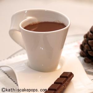 Kokos-Schokoladenpunschausschnitt