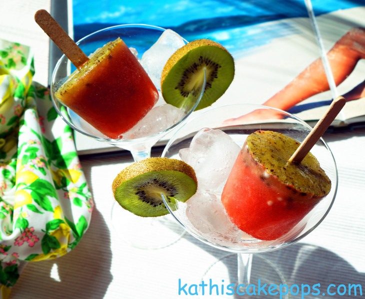 It´s getting hot? Cool down mit Wassermelonen-Ice-Pops