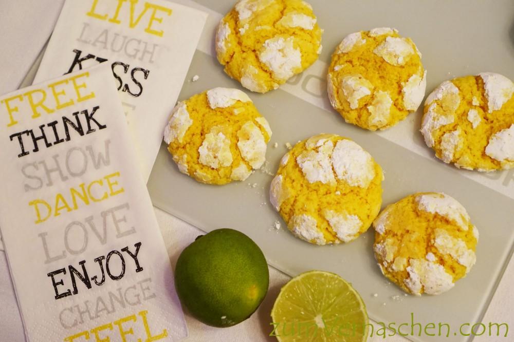 Line Crinke Cookies